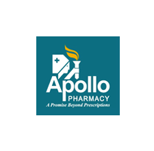 Image result for apollo pharmacy logo